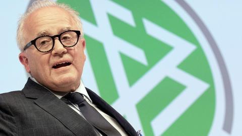 DFB-Präsident Fritz Keller hatte sich eine verbale Entgleisung geleistet.