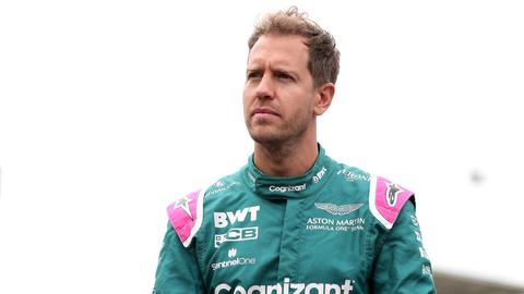 Fährt weiter für Aston Martin: Sebastian Vettel.
