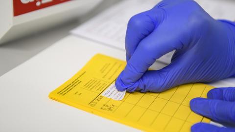 Ein Impfpass mit Informationen über die Corona-Impfung. (dpa)