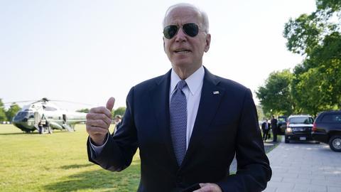 US-Präsident Joe Biden. (AP)