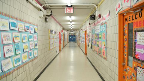 Geschlossene Schule in Manhattan (AFP)