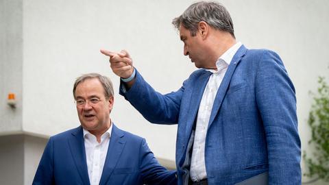 Armin Laschet und Markus Söder (picture alliance/dpa)