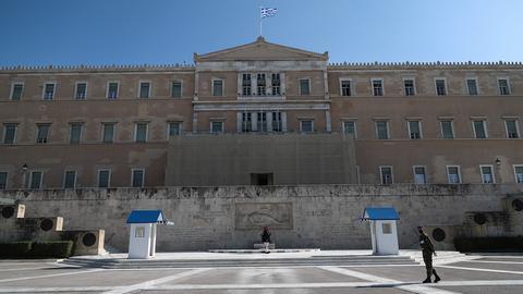 Parlamentsgebäude in Athen (picture alliance / ANE / Eurokin)