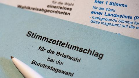 Briefwahl-Unterlagen der Bundestagswahl 2017 (dpa)