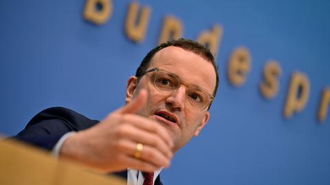 Gesundheitsminister Jens Spahn. (AFP)
