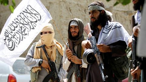 Taliban-Mitglieder in Afghanistan (Archivbild) (REUTERS)