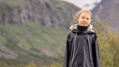 Die schwedische Klimaaktivistin Greta Thunberg (AFP)