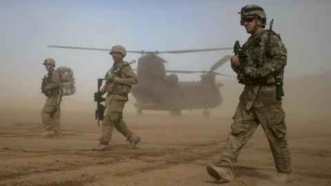 US-Soldaten in Afghanistan (Archivbild). (AP)