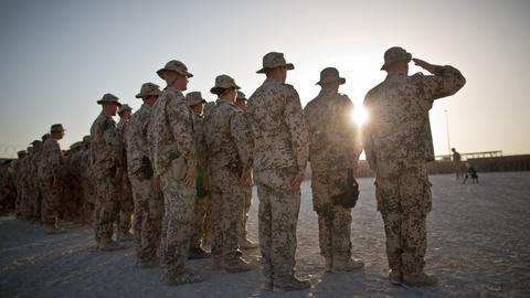 Archivbild: Soldaten der Bundeswehr in Afghanistan (dpa)