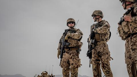 Bundeswehr in Afghanistan (picture alliance/dpa)