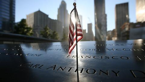 Gedenken Terroranschläge in New York (AFP)