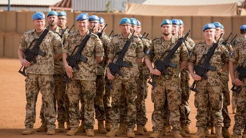 Bundeswehrsoldaten in Mali (picture alliance / photothek)