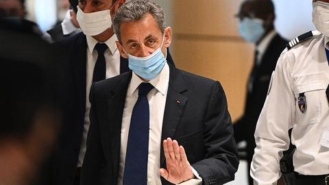 Der ehemalige französische Präsident Nicolas Sarkozy. (AFP)