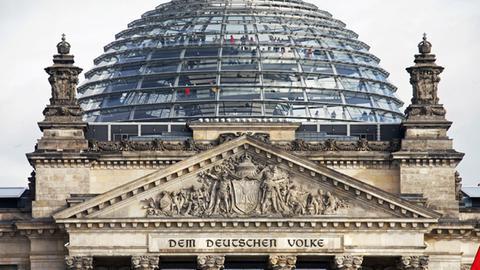 Bundestag im Reichstag in Berlin (ARD-aktuell)