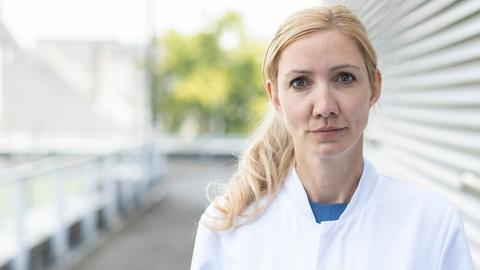 Die Virologin Prof. Dr. Sandra Ciesek ()