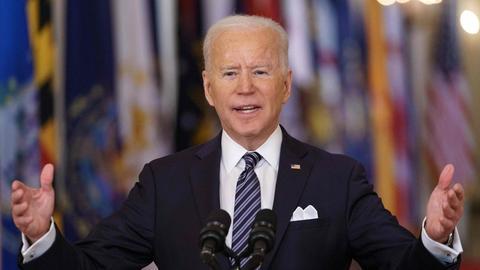 US-Präsident Joe Biden (AFP)