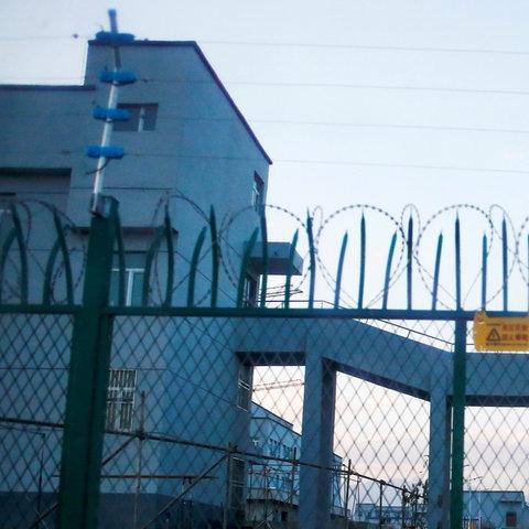 Haftanstalt in der uigurischen autonomen Region (REUTERS)