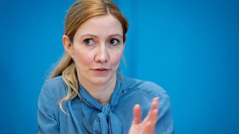 Virologin Sandra Ciesek (dpa)
