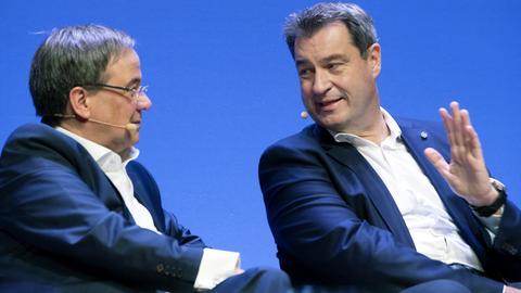 Laschet und Söder (picture alliance / SvenSimon)