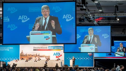 AfD-Parteitag in Dresden (dpa)