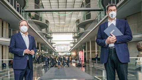 Armin Laschet und Markus Söder (dpa)