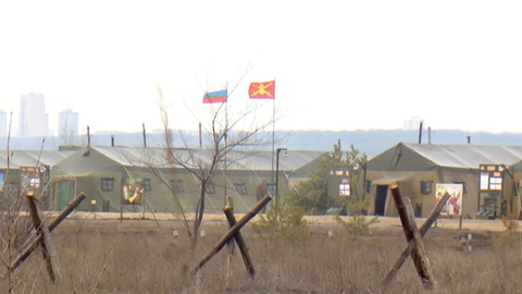 Das russische Militärlager nahe der Ukraine (ARD-Studio Moskau)