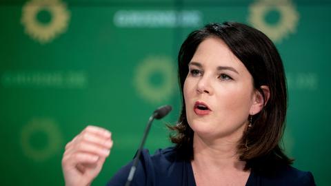 Annalena Baerbock, Bundesvorsitzende von Bündnis 90/Die Grünen. (dpa)
