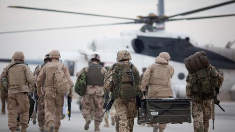 Bundeswehrsoldaten in Masar-i-Scharif in Afghanistan (dpa)