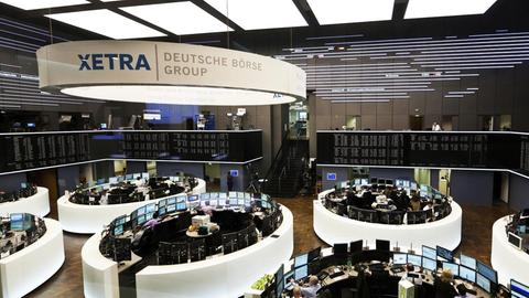 Deutsche Börse in Frankfurt ()