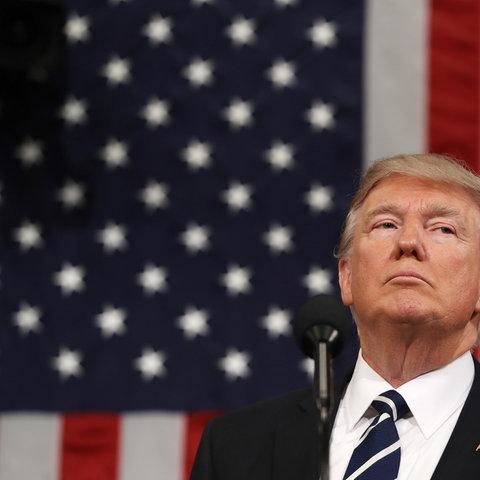 Trump vor dem Kongress (REUTERS)