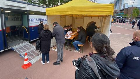 Impfung in Chorweiler ()