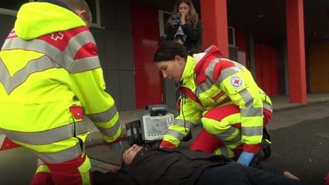Schüler als Rettungssanitäter