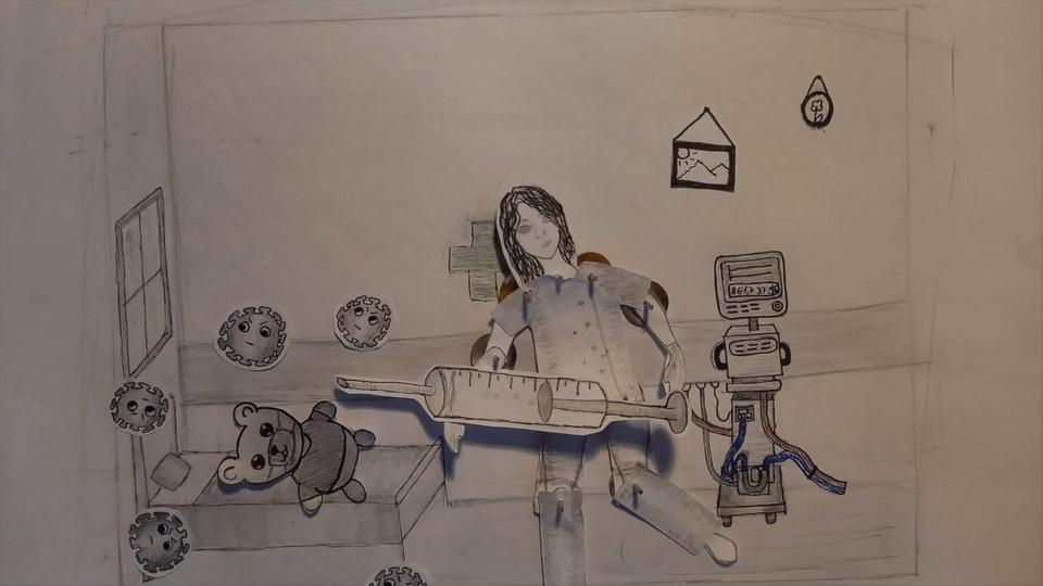 Animationsfilmszene