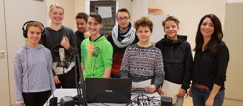 Schüler der Ahnatalschule