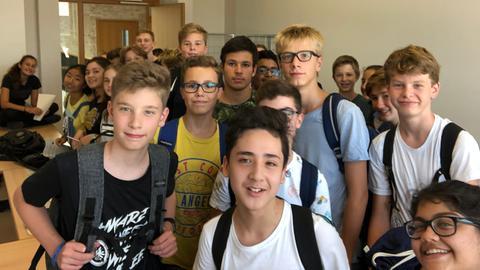 Schüler*innen des Gymnasiums Riedberg