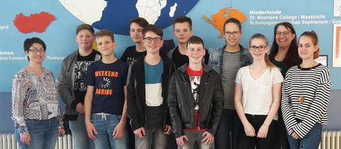 Schüler der Kopernikusschule Freigericht