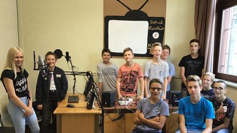 Die Radiomacher der Kreisrealschule Bad Orb