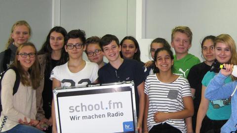 Schüler der Oswald-von-Nell-Breuning-Schule Rödermark