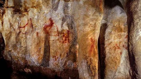 Höhlenzeichnung von Ardales
