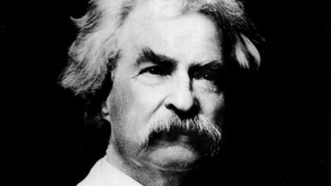 Porträt Mark Twain