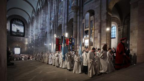 Gottesdienst im Dom zu Speyer