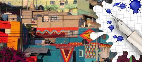 Stadtansicht und Grafik