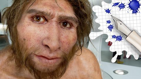 Homo Heidelbergensis und Grafik