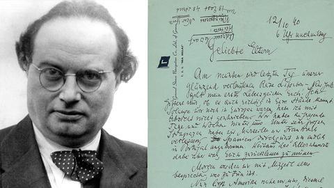 """Franz Werfel: Brief an seine Eltern, an Bord der """"Nea Hellas"""", 12.Oktober1940"""