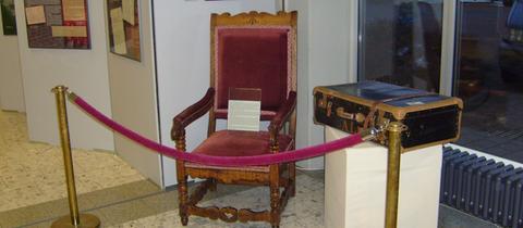 Stuhl aus dem Besitz von Artur Lauinger