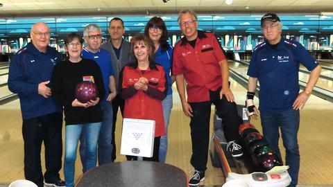 Bowling-Team Betriebssportgemeinschaft Saisonabschluss
