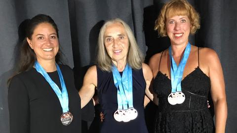 Medallienträgerinnen der BSG bei den 62. Sommerspielen der Eurovision