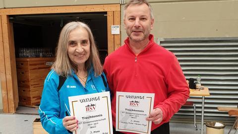Sieger BSV Meisterschaft im Tischtennis