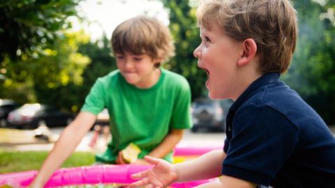 KiBiz e.V. Spielende Kinder