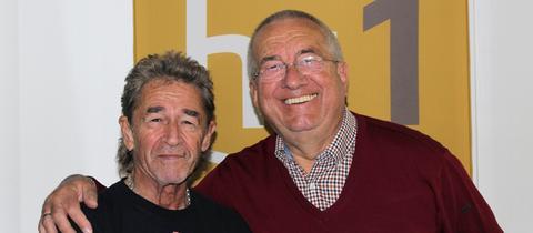 Peter Maffay und Werner Reinke